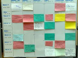 Somehow the post it schedule just doesn't work