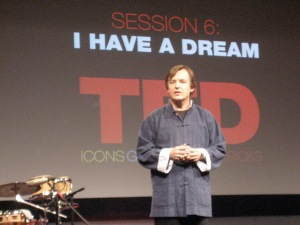 Chris Anderson at a TED Conference